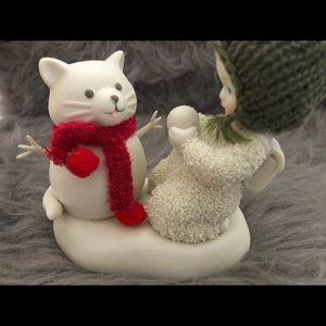 Snowbabies Accents - 🍄2/$80 NIB Snow babies Dept 56 Snow Cat Figures